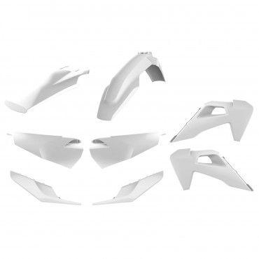 Husqvarna TE,FE - Kit de Plásticos Enduro Branco - Modelos 2020
