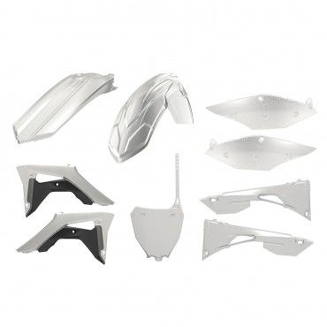 Honda CRF250R - Replica Plastic Kit Clear - 2018-20 Models