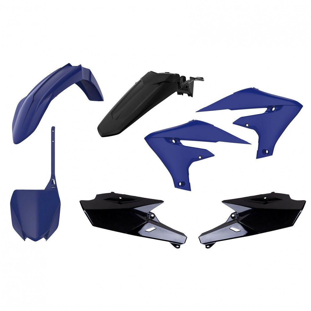 Yamaha YZ250F - Kit de Plásticos MX Azul e Preto - Modelos 2019-20