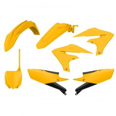 Yamaha YZ450F - MX Plastic Kit Vintage Yellow - 2018-19 Models