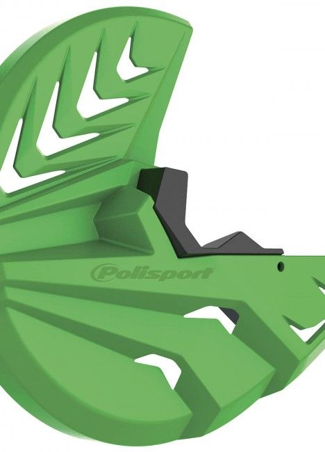 Kawasaki KX 450F - Disc and Bottom Fork Protector Green - 2015-20 Models
