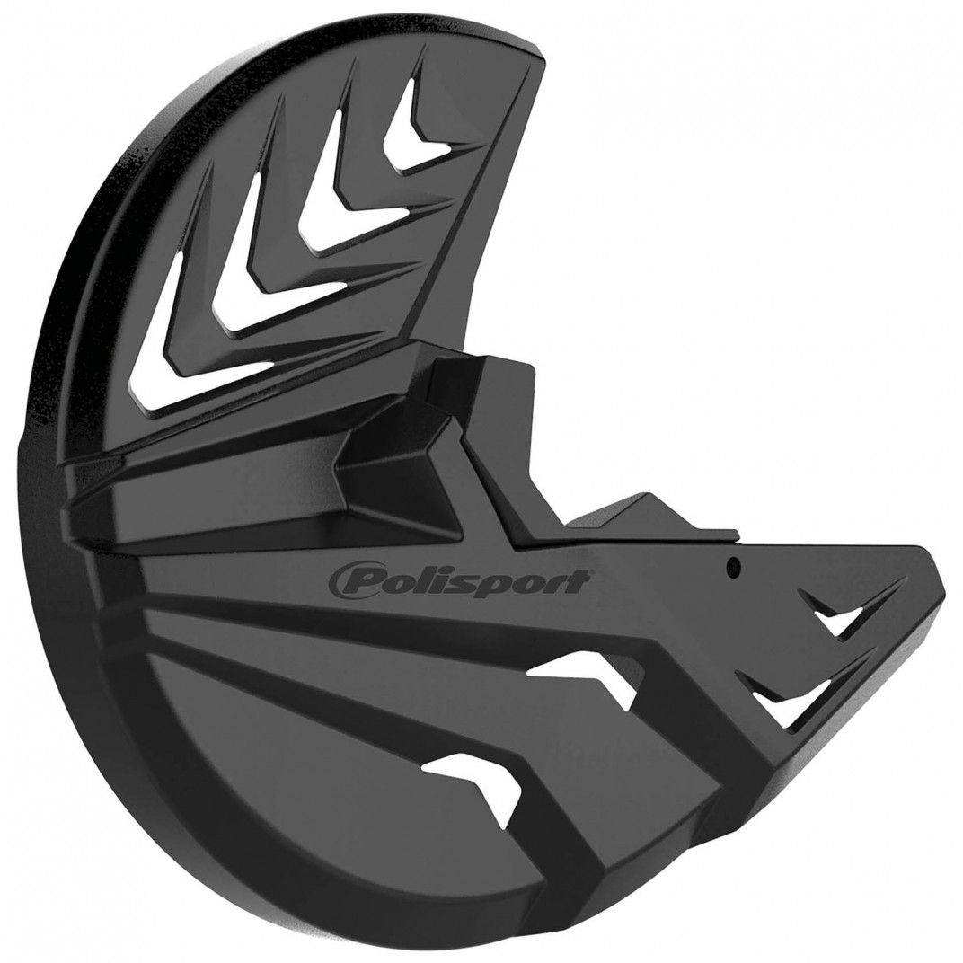 Husaberg TE/FE - Disc and Bottom Fork Protector Black - 2009-14 Models