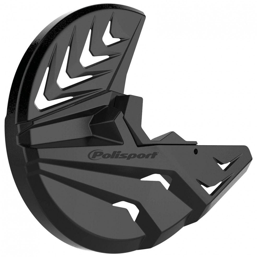 KTM SX,SX-F,XC,XC-F - Bremsscheiben und unterer Gabelprotektor Schwarz - Modelles 2007-14