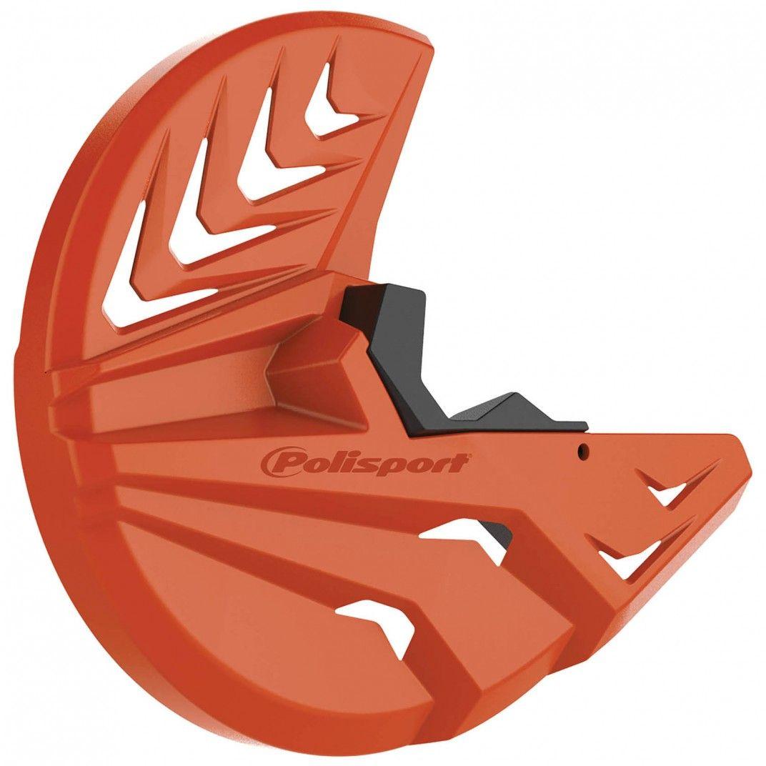 KTM EXC,EXC-F,XC-W,XCF-W - Bremsscheiben und unterer Gabelprotektor Orange - Modelles 2008-15