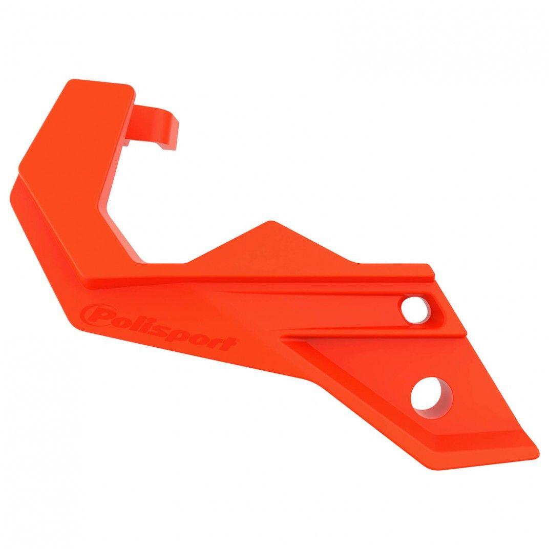 KTM SX,SX-F,XC,XC-F - Protecteur de Pied de Fourche Orange - Modèles 2007-14