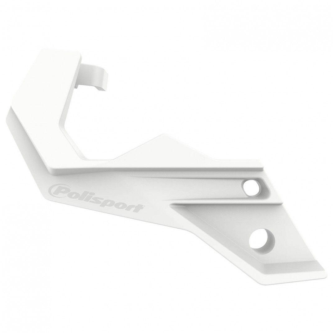 Sherco SE-R/SEF-R 250/300 - Protecteur de Pied de Fourche Blanc - Modèles 2013-17