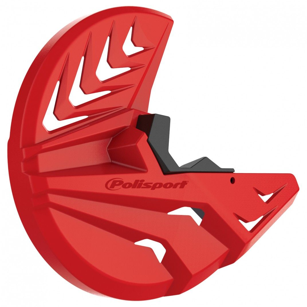 Gas Gas EC 250,EC 300,EC 350 - Disc and Bottom Fork Protector Red - 2009-20 Models
