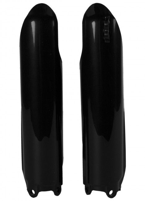 Yamaha YZ250F,YZ450F - Fork Guards Black - 2008-09 Models