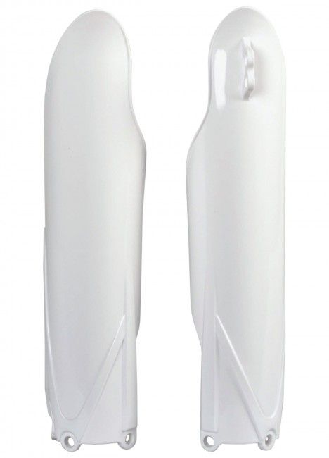 Yamaha YZ125/250, YZ250FX - Fork Guards White - 2015-20 Models