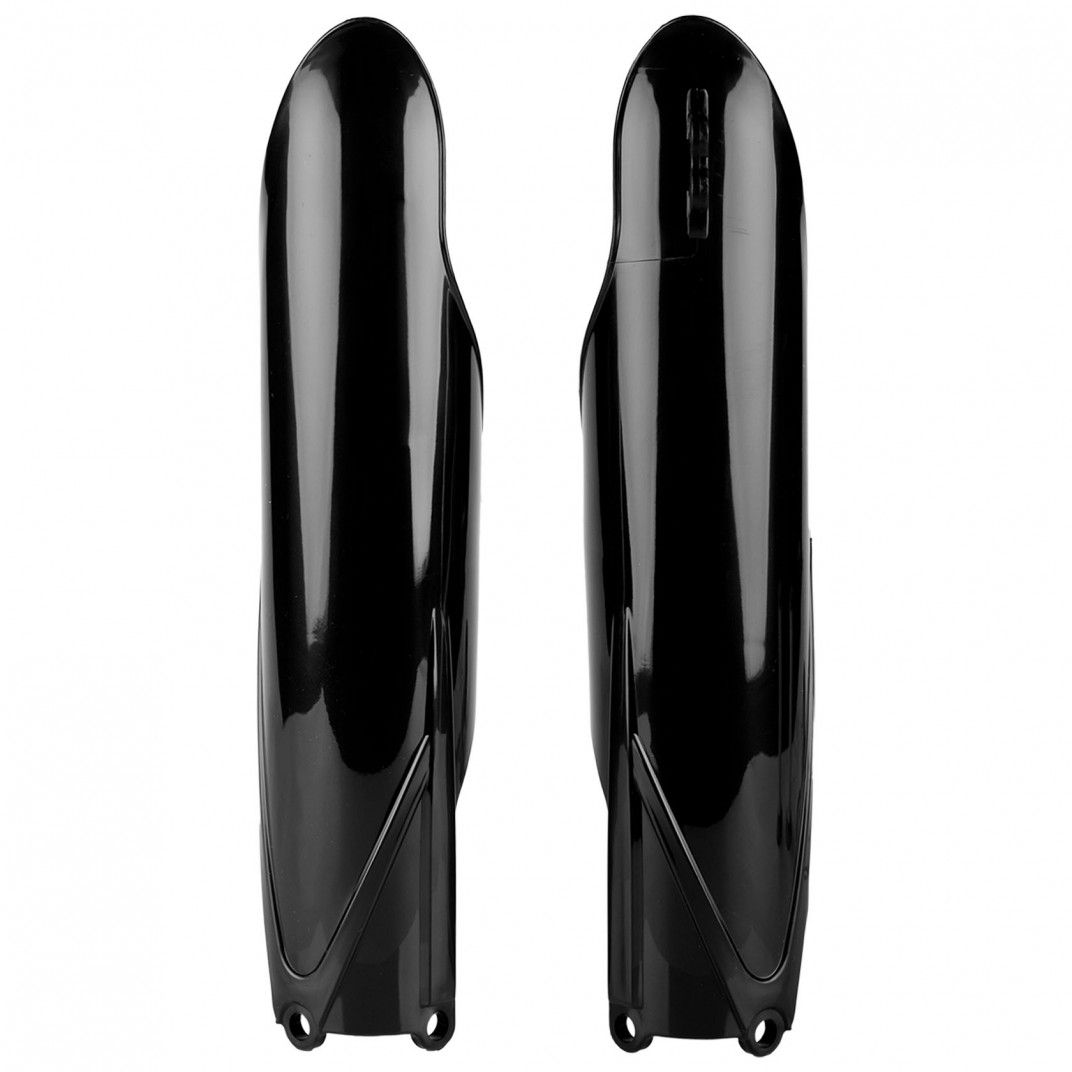 Yamaha YZ125X/YZ250X, YZ450FX - Fork Guards Black - 2016-20 Models
