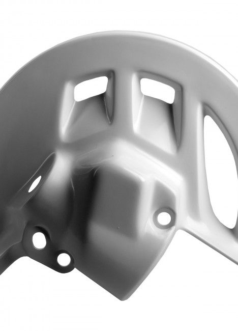 Honda CRF450R - Front Disc Guard White - 2002-08 Models