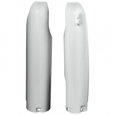 Yamaha WR250F,WR450F - Fork Guards White - 2005 Models
