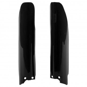 Suzuki RM125, RM250 - Fork Guards Black - 2007-08 Models