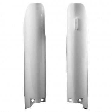 Suzuki RMZ450 - Fork Guards White - 2008-20 Models