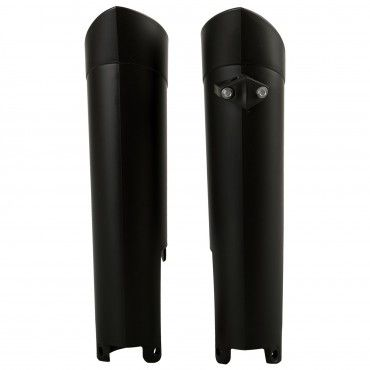 Gas Gas EC200,EC-E200 - Fork Guards Black - 2006-17 Models
