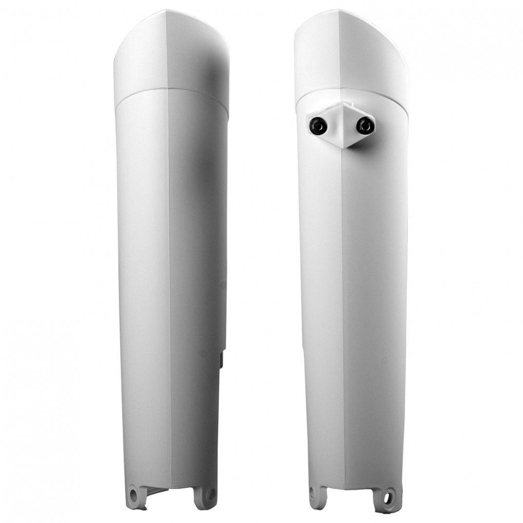 Gas Gas EC200,EC-E200 - Protetores de Forqueta Branco - Modelos 2006-17