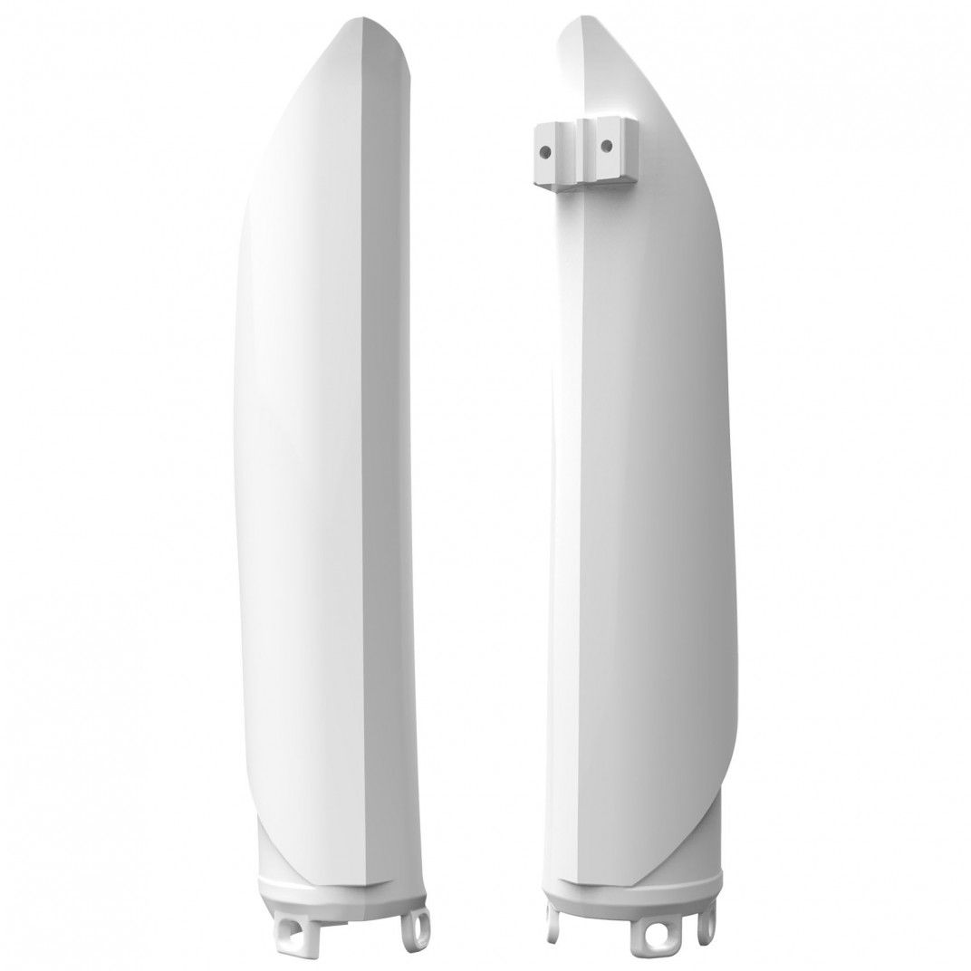 Gabelprotektoren Weiß für Modelles Beta RR 2T,4T, X-Trainer