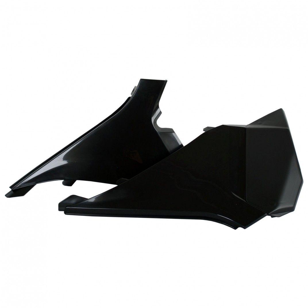 KTM SX,XC,XC-F - Caches Boîte à Air Noir - Modèles 2012