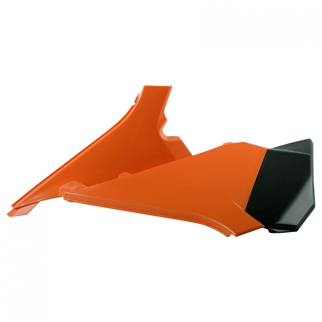KTM SX-F - Caches Boîte à Air Orange - Modèles 2011-12