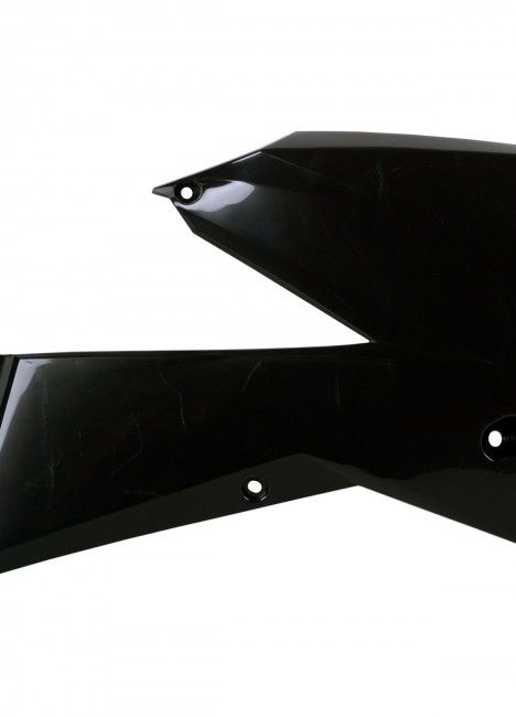 KTM EXC-F,XC,XC-W,XCF-W - Radiator Scoops Black - 2006-07 Models