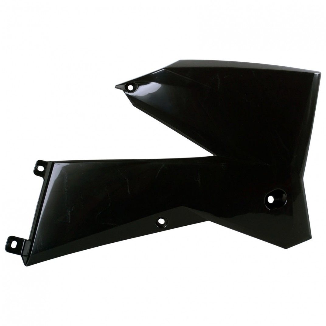 KTM XC-F - Radiator Scoops Black - 2007 Models
