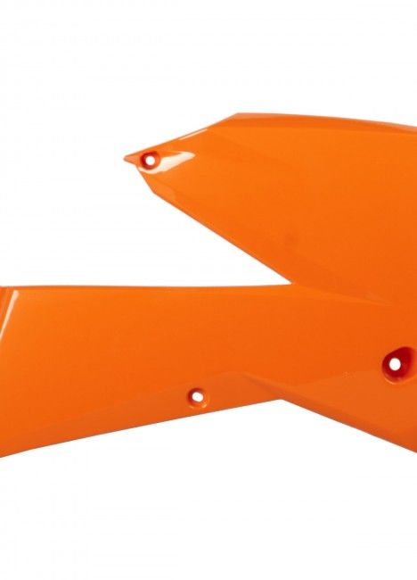 KTM SX,SX-F - Radiator Scoops Orange - 2005-06 Models