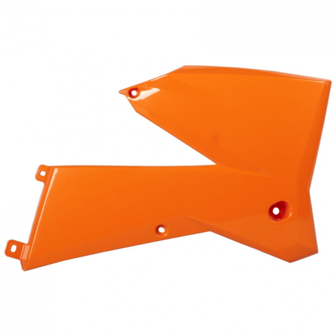 KTM XC-F - Radiator Scoops Orange - 2007 Models