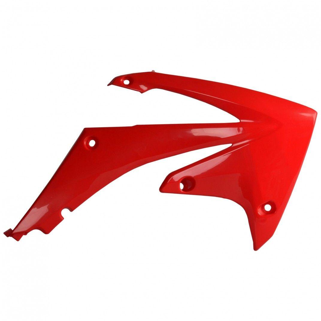 Honda CRF250R - Caches de Radiateur Rouge - Modèles 2010-13