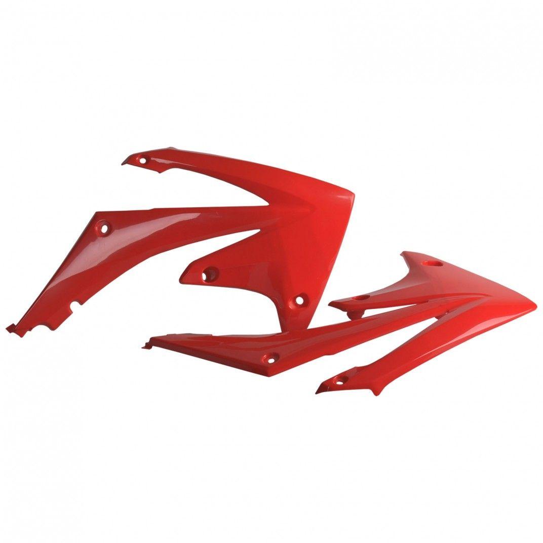 Honda CRF250R - Tapas de Radiador Rojas - Modelos 2010-13