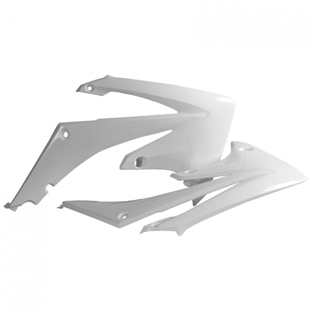 Honda CRF250R - Tapas de Radiador Blancas - Modelos 2010-13