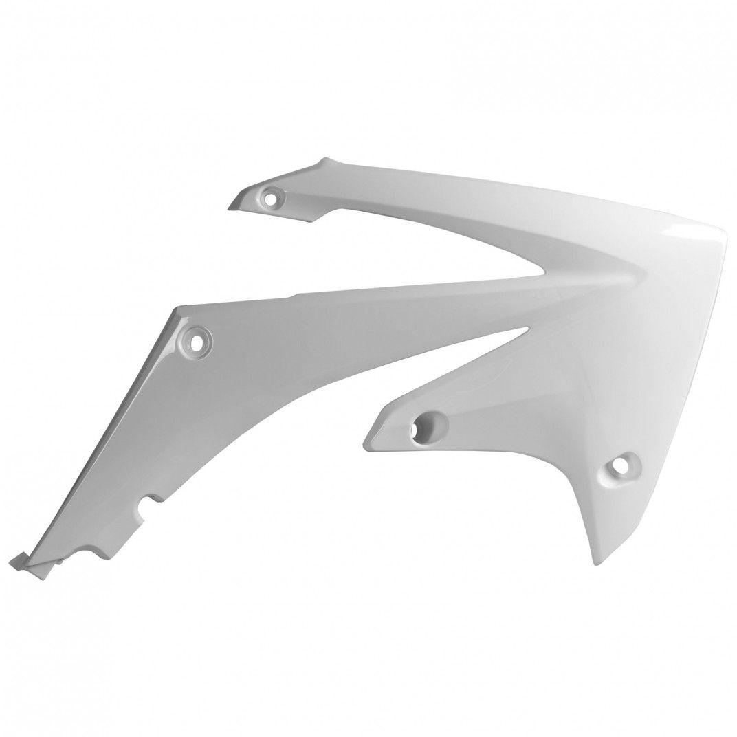 Honda CRF250R - Caches de Radiateur Blanc - Modèles 2010-13