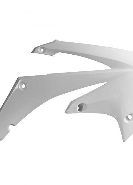Honda CRF450R - Radiator Scoops White - 2009-12 Models