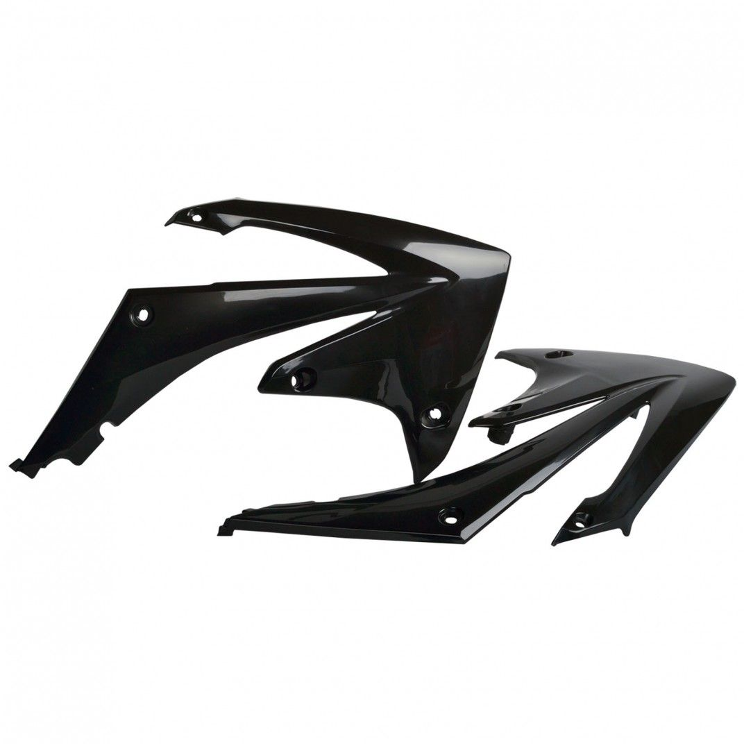 Honda CRF450R - Radiator Scoops Black - 2009-12 Models