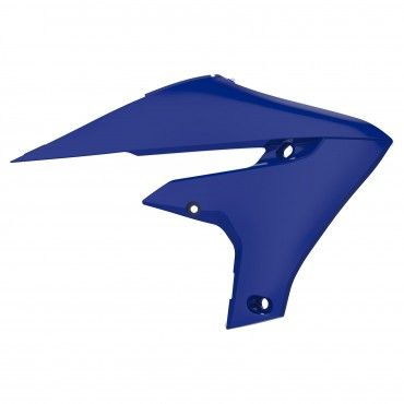 Yamaha YZ450F- Radiator Scoops Blue/White - 2018-20 Models