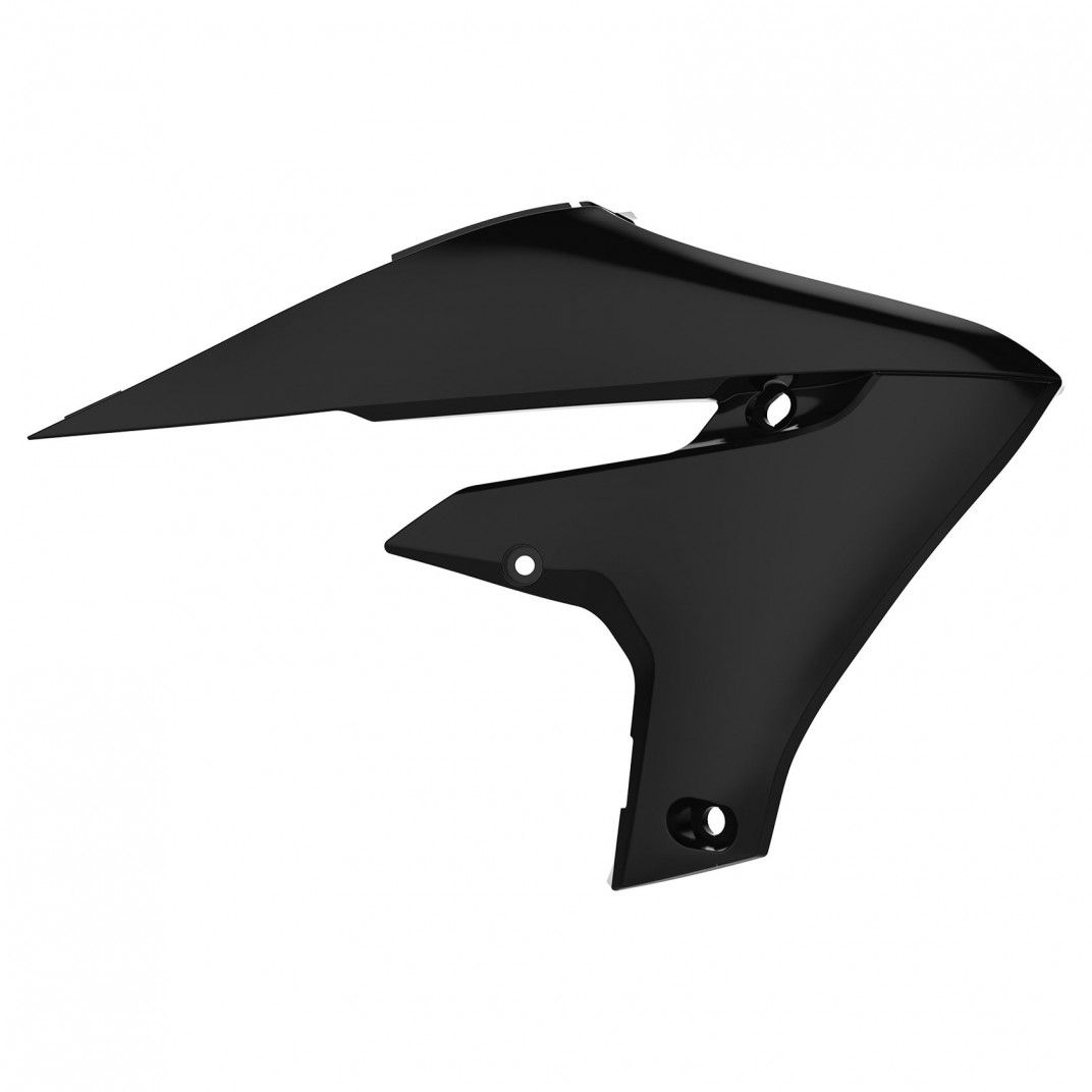 Yamaha YZ250FX, WR250F- Radiator Scoops Black - 2020 Models