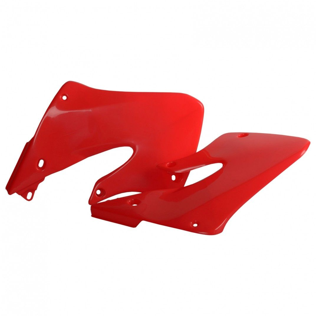 Honda CR250R - Radiator Scoops Red - 1997-99 Models