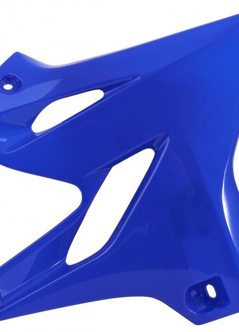 Yamaha YZ125/250 - Radiator Scoops Blue - 2015-20 Models
