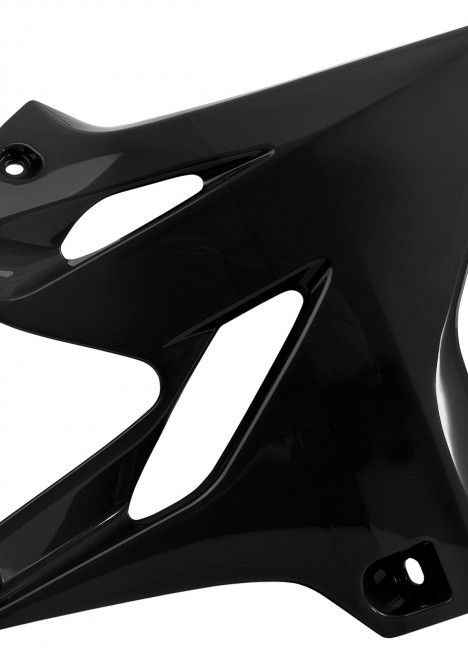 Yamaha YZ125/250 - Radiator Scoops Black - 2015-20 Models