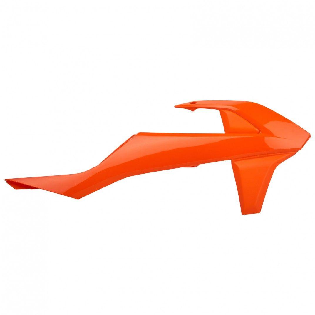 KTM SX,SX-F,XC-F - Tapas de Radiador Naranjas - Modelos 2016-18
