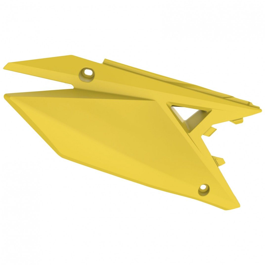 Suzuki RMZ250 - Tampas Laterais Amarelo - Modelos 2019-20