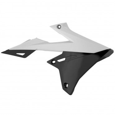 Suzuki RMZ450 - Radiator Scoops White - 2018-20 Models