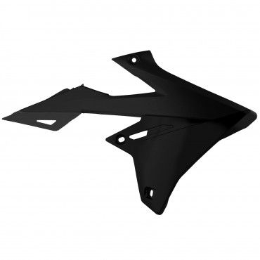 Suzuki RMZ250 - Radiator Scoops Black - 2019-20 Models