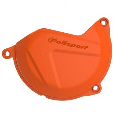 KTM 450 XC-F/SX-F - Clutch Cover Protection Orange - 2013-15 Models