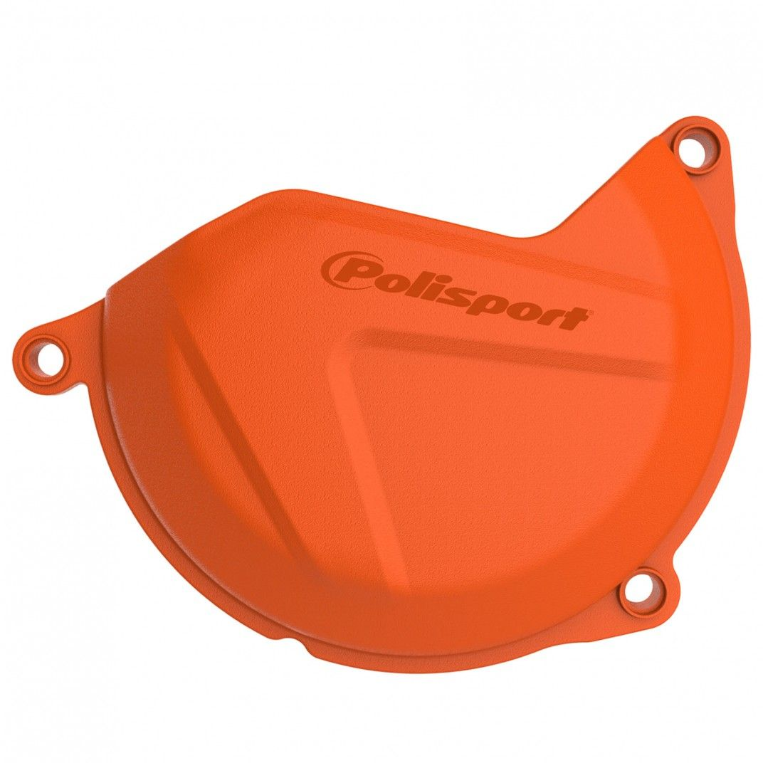 KTM 450 XC-F/SX-F - Protection de Carter d'Embrayage Orange - Modèles 2013-15