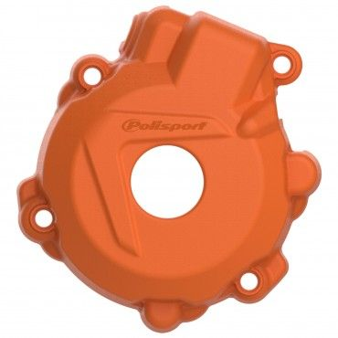 KTM Freeride 350 - Ignition Cover Protector Orange - 2013-17 Models