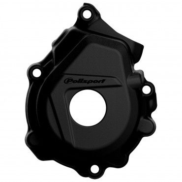 KTM 125/150SX,250/350SX-F,XC-F - Ignition Cover Protector Black - 2016-20 Models