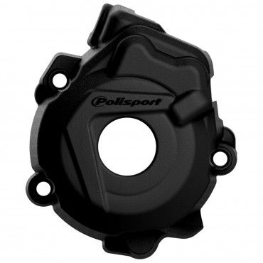 KTM 250XC-F - Ignition Cover Protector Black - 2014-15 Models