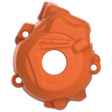 KTM 350SX-F,350XC-F - Ignition Cover Protector Orange - 2012-15 Models