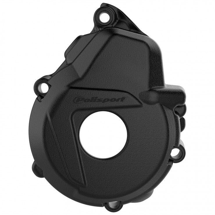 POLISPORT Accensione Coperchio di protezione si adatta a KTM FREERIDE 350 12-17 Nero