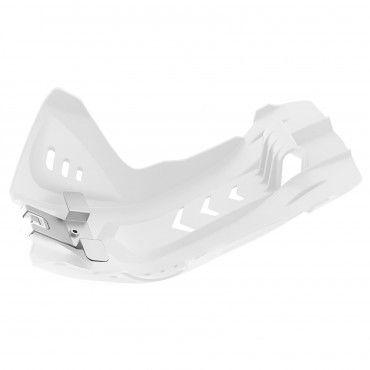 KTM 250 SX-F,350 SX-F - Fortress Skid Plate White - 2016-18 Models